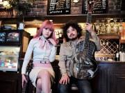 富山のシンガー、W.C.カラスさんライブ スライドギターの名手Chihanaさん共演