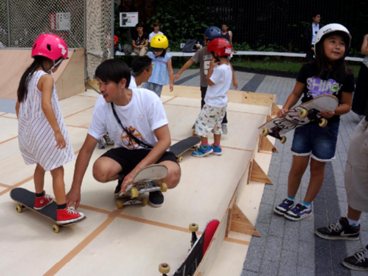 スケートボード体験スクールは子どもも楽しめる