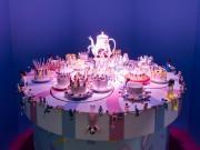 人気カプセルトイ「コップのフチ子」企画展 富山ご当地フチ子の原画も