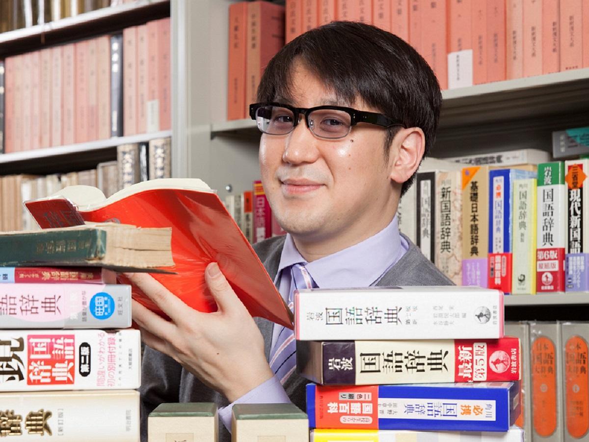 芸人にして日本語学者のサンキュータツオさん