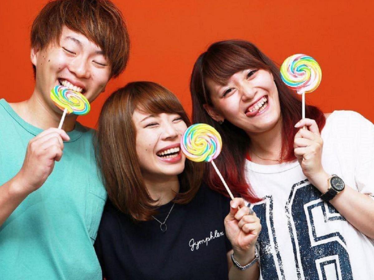 左からAtagoさん、Kaoriさん、Hiuさん