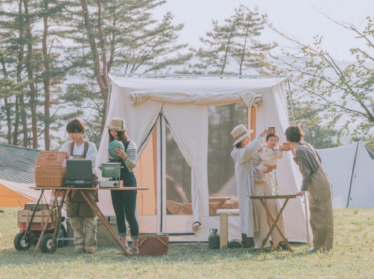 会場となる「どやまらんど明日キャンプ場」