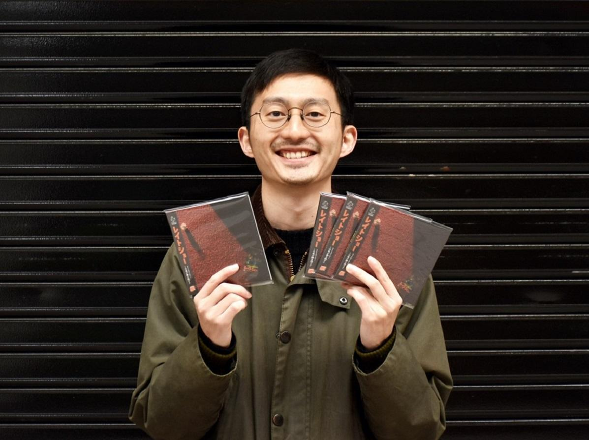 やじまたくまさんと、販売する「レイトショー」のCD