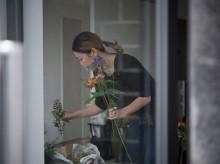 富山にフラワーアーティストのアトリエ 生花やアレンジギフト、花器販売も