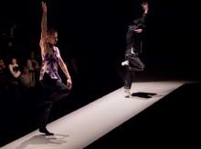 富山で「島地保武×環ROY」ライブ ダンスとラップの即興パフォーマンス披露