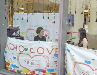 豊田市駅前の情報を伝えるラジオ公録 まちの活気を取り戻そうとコモ・スクエアが企画