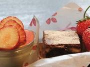 茨城イチゴを使ったバレンタインスイーツ、つくばのレストランで販売