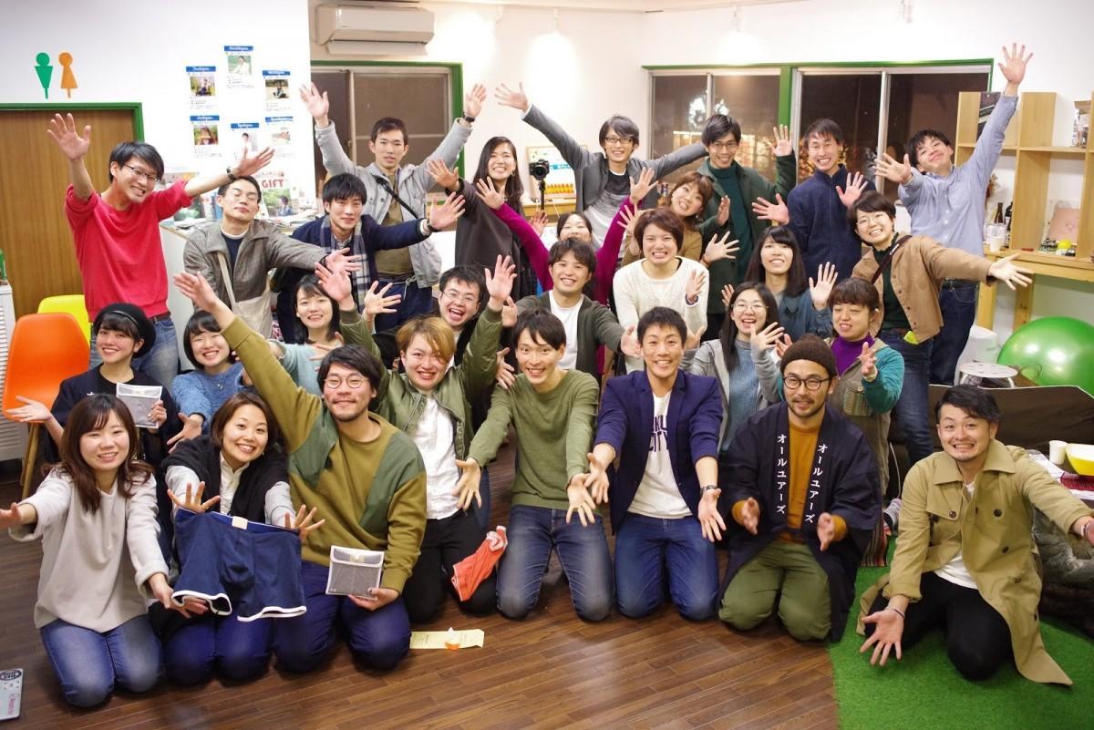 記念イベント参加者達の集合写真 (写真提供=Tsukuba Place Lab)