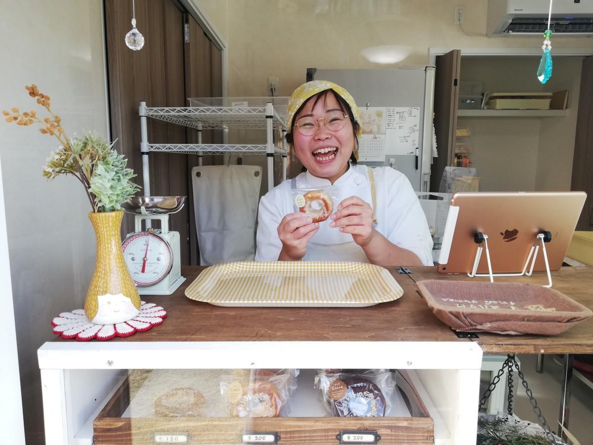 店主の篠原杏菜さん