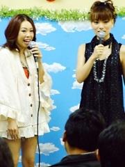 アメ横で「ハロプロ」イベント-保田圭さん・稲葉貴子さんがトーク