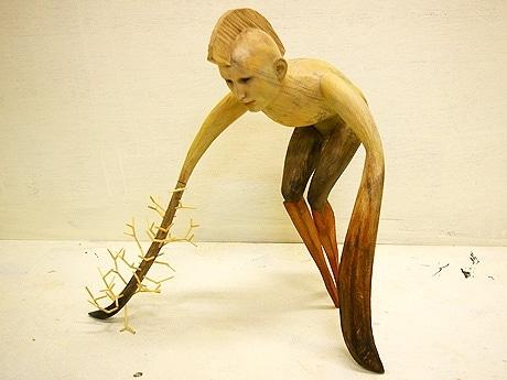 東京造形大卒業の現代彫刻家3人がグループ展-千駄木で | 上野経済新聞