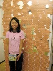 稲荷町駅近くの画廊で女性アーティスト3人展-芸大卒アーティストも