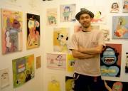 日仏作家、「狂気」と「ホラー」をテーマに二人展-東上野のギャラリーで