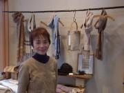 鳥越に手織り・草木染め工房-テキスタイルデザイナー、父の元仕事場に開く
