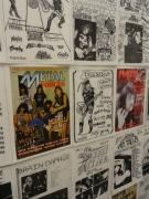 東上野のギャラリーでデスメタル「ファンジン」展-世界から250点