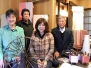 千駄木・へび道に「塩沢紬」の専門店「つむぎ」-織元3代目が開く