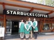 上野公園・噴水広場にカフェ2店-スタバ、公園内への出店3店舗目