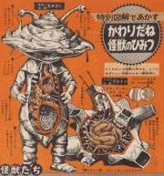 弥生美術館で「大伴昌司展」-ウルトラ怪獣の図解や未来の車など展示