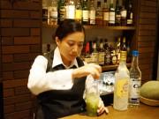 根津にバー「くるみ」-女性バーテンダーが独立、フルーツカクテルで差別化