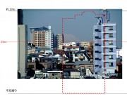 都内「最後」の富士見坂、眺望の危機新たに-高層ビル計画浮上