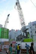御徒町駅前で新「吉池ビル」が着工-ユニクロ、g.u.、来春開業へ