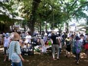千駄木で「手創り市」-寺を拠点に文化を発信、アート展も