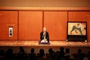 鈴本演芸場のついたてが41年ぶりに復活-入谷の寺で発見