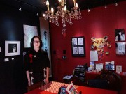 千駄木のカフェギャラリー「幻」が1周年-文化交流サロン目指す