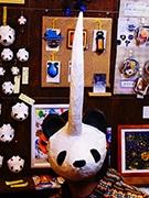 パンダに角がついた「ツノパンダ」、千駄木のアートスペースが開発