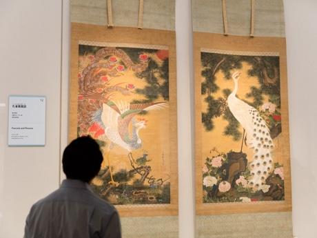 東京都美術館で「若冲展」 「孔雀鳳凰図」など初公開作品も