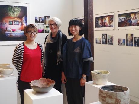 谷中でフィンランドの「記憶」映す写真と陶芸の展覧会 「違いの中にある光」表現