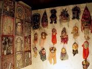 根津でアウトサイダーアートのグループ展 70代作家ら4組による「カオス」