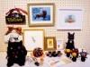 谷中で「黒ねこ博」 黒猫をテーマに作家11人が参加