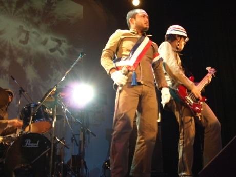 2007年の「大阪ロック大将」に輝いた「メキシカンズ」