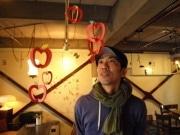モビール作家いろけんさん、中津のカフェで個展「ユラリズム」
