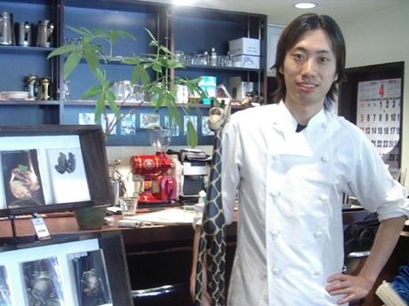 扇町チームのリーダーで「Bodaiju Cafe(ボダイジュカフェ)」オーナーの仲村雅司さん