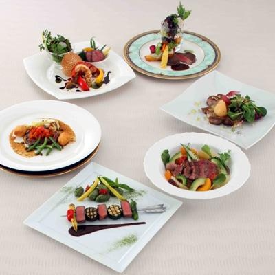 日本茶をテーマにした各ホテルのメーン料理