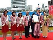 くいだおれ太郎が福井米大使に就任-中之島・水都大阪会場で「コメ活」
