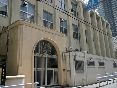 1930(昭和5)年に落成した旧・済美小学校の本館校舎