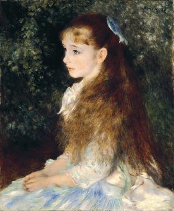 「イレーヌ・カーン・ダンヴェール嬢(可愛いイレーヌ)」1880年 E.G.ビューレー・コレクション