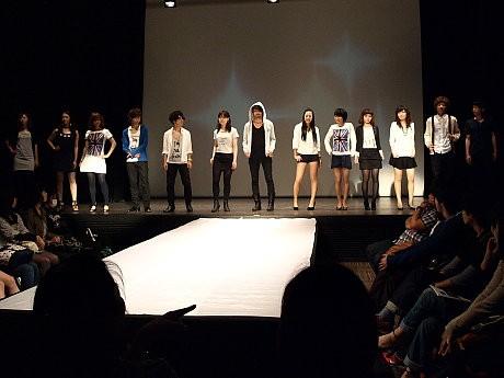 出演・運営も関西の学生らボランティアスタッフの協力で開催したフェアトレードファッションショー
