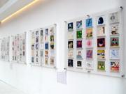 50人のアーティストによるCDサイズアート-梅田「イーマ」で企画展