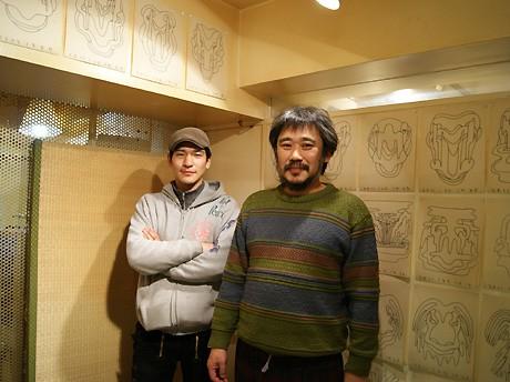 田口行弘さん(写真左)と狩集広洋さん(同右)