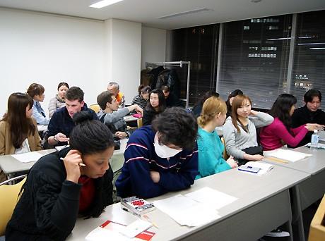 毎週月曜に開催する「日本語教室とランゲージエクスチェンジの会」