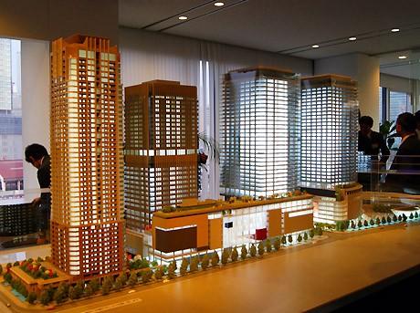 グランフロント大阪プロジェクト模型