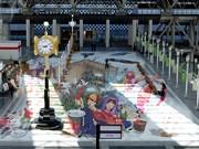 大阪ステーションシティで開業1周年イベント-巨大トリックアートも