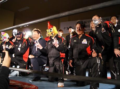 梅田ピカデリー跡に大阪プロレス常設会場「ナスキーホール・梅田」がオープンした
