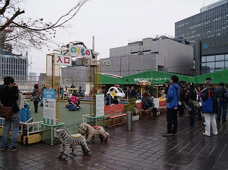2月28日に営業を終了した阪神梅田本店の屋上遊園