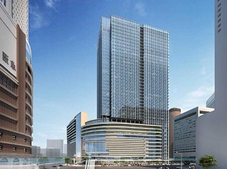 「梅田1丁目1番地計画ビル」(仮称)完成イメージ