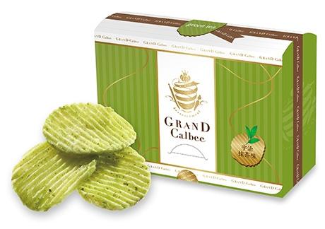 7月1日発売の「GRAND Calbee 宇治抹茶味」